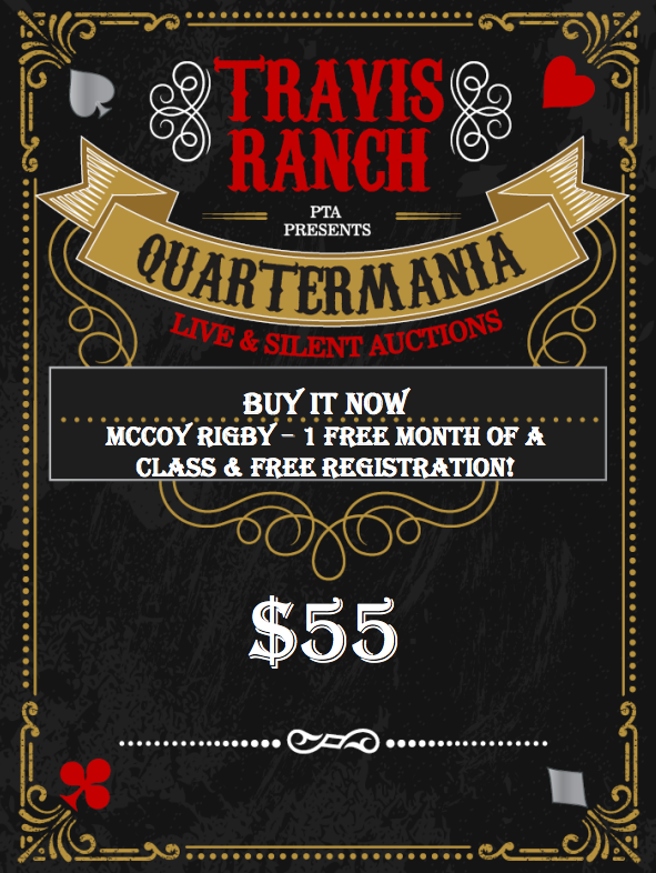 McCoy Rigby – 1 Free Month